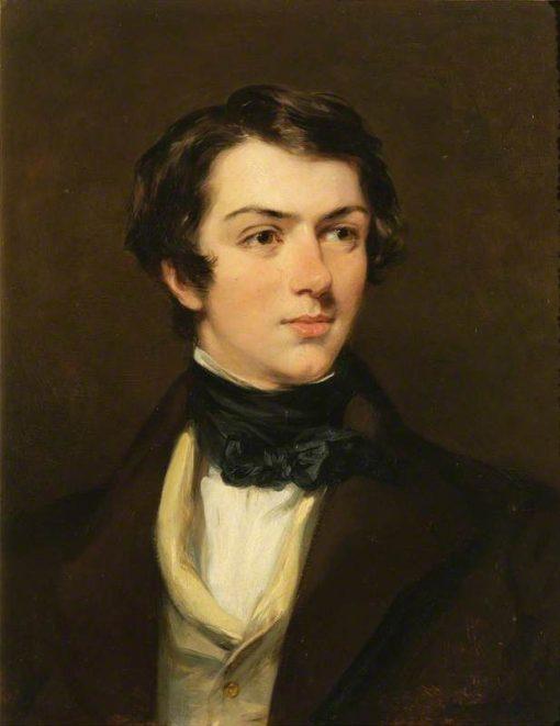 The Honourable and Reverand Douglas Gordon | Margaret Sarah Carpenter | Oil Painting
