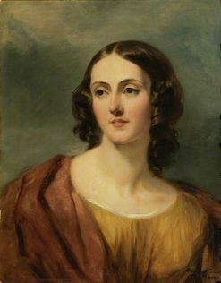 Lady Harriet Hamilton | Margaret Sarah Carpenter | Oil Painting