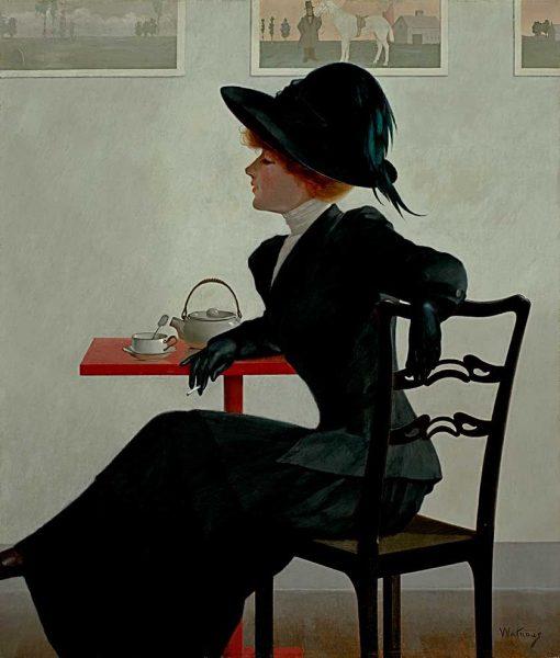 Sophistication | Harry Wilson Watrous | Oil Painting