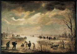 Winter Landscape | Aert van der Neer | Oil Painting
