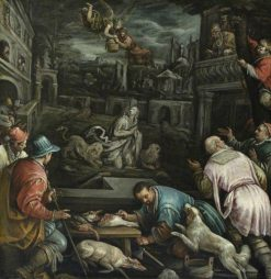 Daniel in the Lion's Den   Jacopo Bassano   Oil Painting