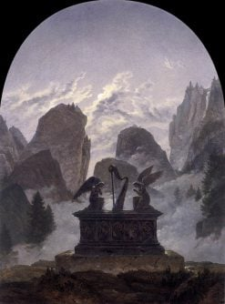 The Goethe Monument | Carl Gustav Carus | Oil Painting