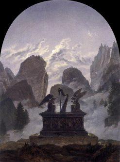 The Goethe Monument | Carl Gustav Carus | Oil Painting
