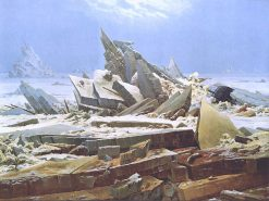 Sea of Ice(also known as The Wreck of Hope) | Caspar David Friedrich | Oil Painting