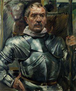 Self Portrait in Armour | Lovis Corinth | Oil Painting