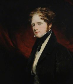 The Right Honourable William Saunders Sebright Lascelles | John Jackson | Oil Painting