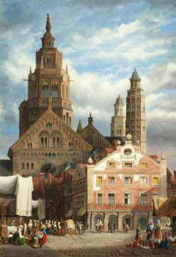 Mayence | Henry Thomas Schafer | Oil Painting