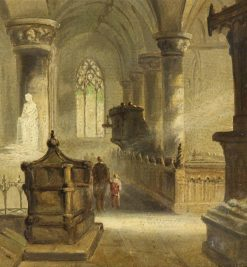 The Chancel | James Holland | Oil Painting