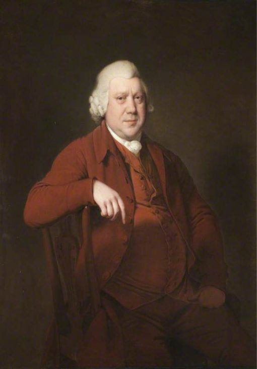 Richard Arkwright | Joseph Wright of Derby | Oil Painting