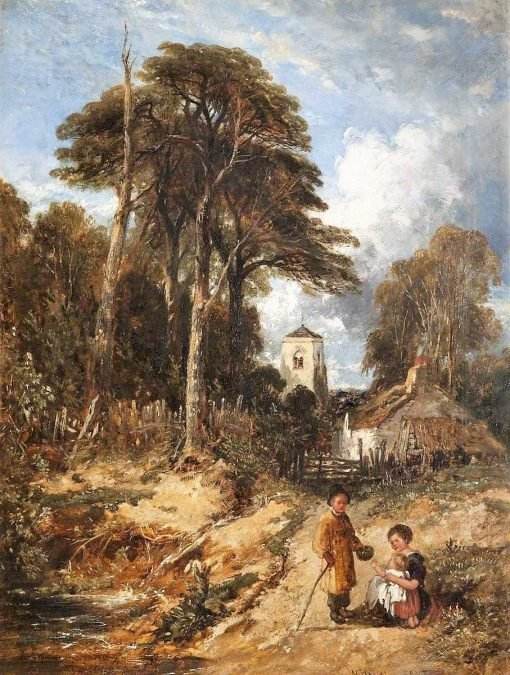 Whitchurch   William James Muller   Oil Painting