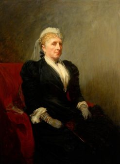 Mrs Richardson | John Seymour Lucas | Oil Painting