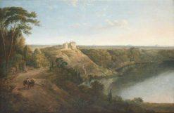 View of Castel Gandolfo | Thomas Jones | Oil Painting