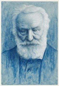 Portrait of Victor Hugo | Alphonse Legros | Oil Painting