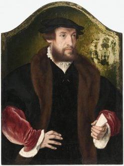 Portrait of a Man   Bartholomaeus Bruyn the Elder   Oil Painting