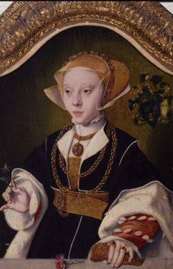 Portrait of a Woman   Bartholomaeus Bruyn the Elder   Oil Painting