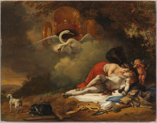 Venus Mourning the Death of Adonis | Bartholomeus Breenbergh | Oil Painting