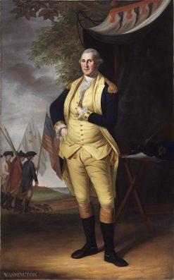 George Washington (1732-1799) | Charles Willson Peale | Oil Painting