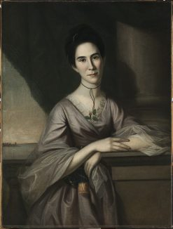 Susanna Steuart Tilghman (Mrs. James Tilghman) (1749-1774) | Charles Willson Peale | Oil Painting