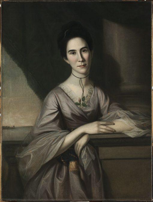Susanna Steuart Tilghman (Mrs. James Tilghman) (1749-1774)   Charles Willson Peale   Oil Painting