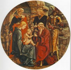 Adoration of the Magi (Predella from the Roverella Altarpiece) | Cosme Tura | Oil Painting