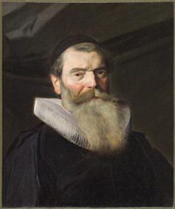 Portrait of a Preacher | Frans Hals | Oil Painting