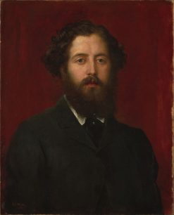 Portrait of a Man | George Frederic Watts | Oil Painting