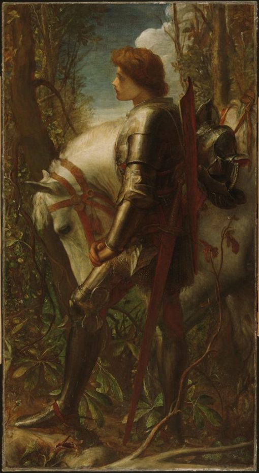 Sir Galahad | George Frederic Watts | Oil Painting