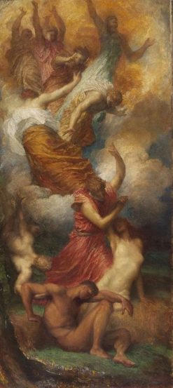 The Creation of Eve | George Frederic Watts | Oil Painting