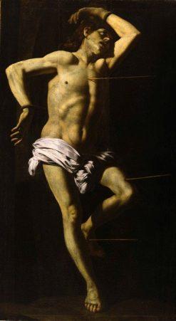 The Martyrdom of Saint Sebastian | Giovanni Battista Caracciolo | Oil Painting