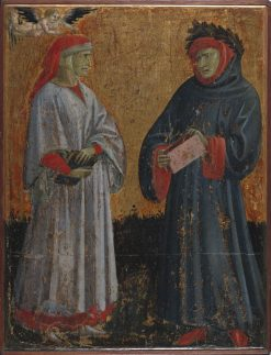 Dante and Petrarch | Giovanni dal Ponte | Oil Painting