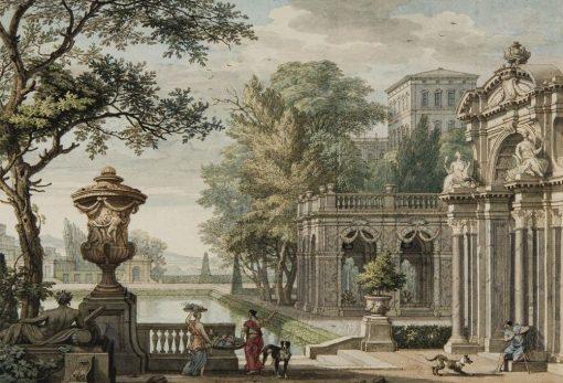 A Capriccio of Classical Buildings | Isaac de Moucheron | Oil Painting