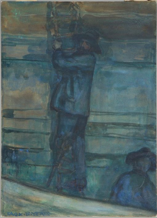 The Man with the Wooden Leg   Jack B. Yeats