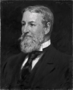 George Martin Lane (1823-1897) | James Carroll Beckwith | Oil Painting