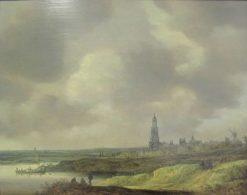 View of Rhenen | Jan van Goyen | Oil Painting