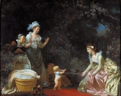 The First Steps | Jean HonorE Fragonard | Oil Painting