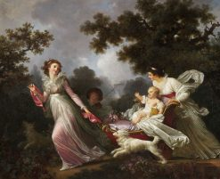 The Beloved Child | Jean HonorE Fragonard | Oil Painting