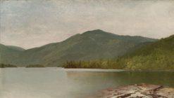 Mountain and Lake (Lake George) | John Frederick Kensett | Oil Painting
