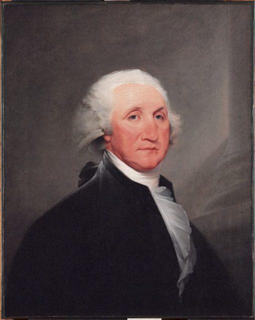 George Washington (1732-1799)   John Trumbull   Oil Painting