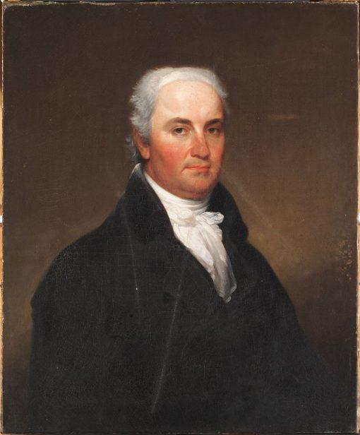 Christopher Gore (1758-1827)   John Trumbull   Oil Painting