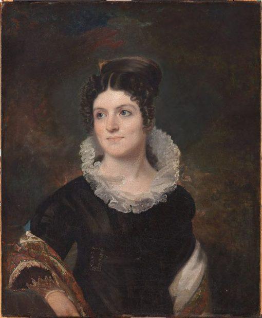 Caroline Howard Gilman | John Wesley Jarvis | Oil Painting