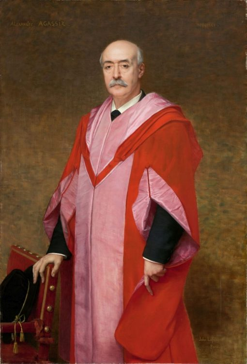 Alexander Agassiz (1835-1910)   Jules Joseph Lefebvre   Oil Painting