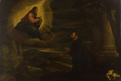 Christ Appearing to a Nobleman | Leandro Bassano | Oil Painting