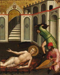 Martyrdom of Saint Lawrence | Mariotto di Nardo | Oil Painting