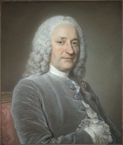 Portrait of Jean de Jullienne | Maurice Quentin de La Tour | Oil Painting