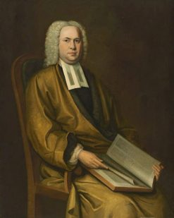 Portrait of a Cleric   Nathaniel Smibert   Oil Painting