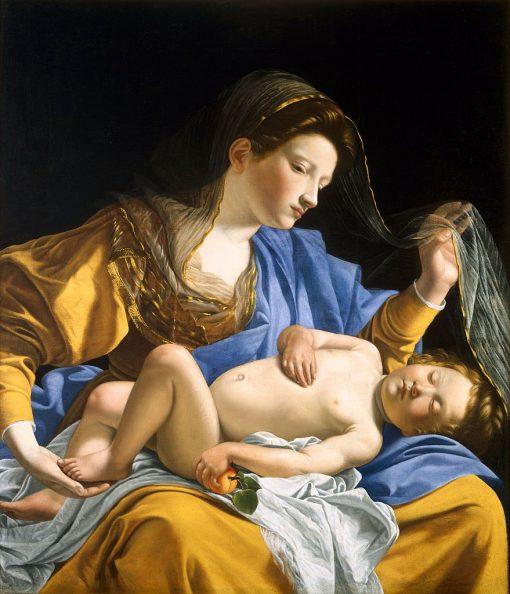 Madonna and Child | Orazio Gentileschi | Oil Painting