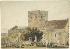 Minster Church | Peter de Wint | Oil Painting