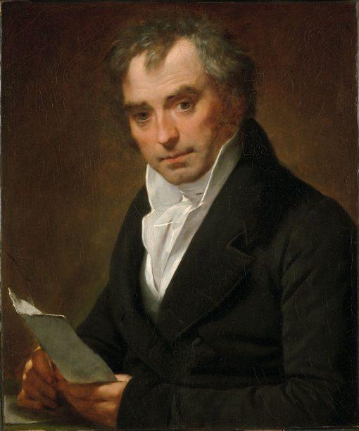 Dr. Thomas Dagoumer   Pierre Paul Prud'hon   Oil Painting