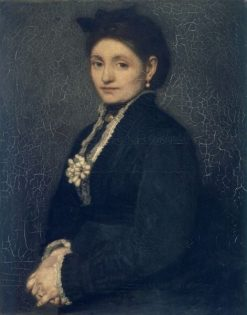 Portrait of Mrs. Hendrika Troussard