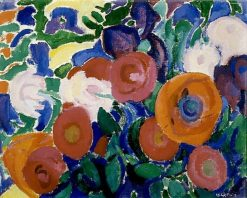 Flowers | Leo Gestel | Oil Painting